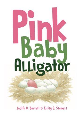 Pink Baby Alligator
